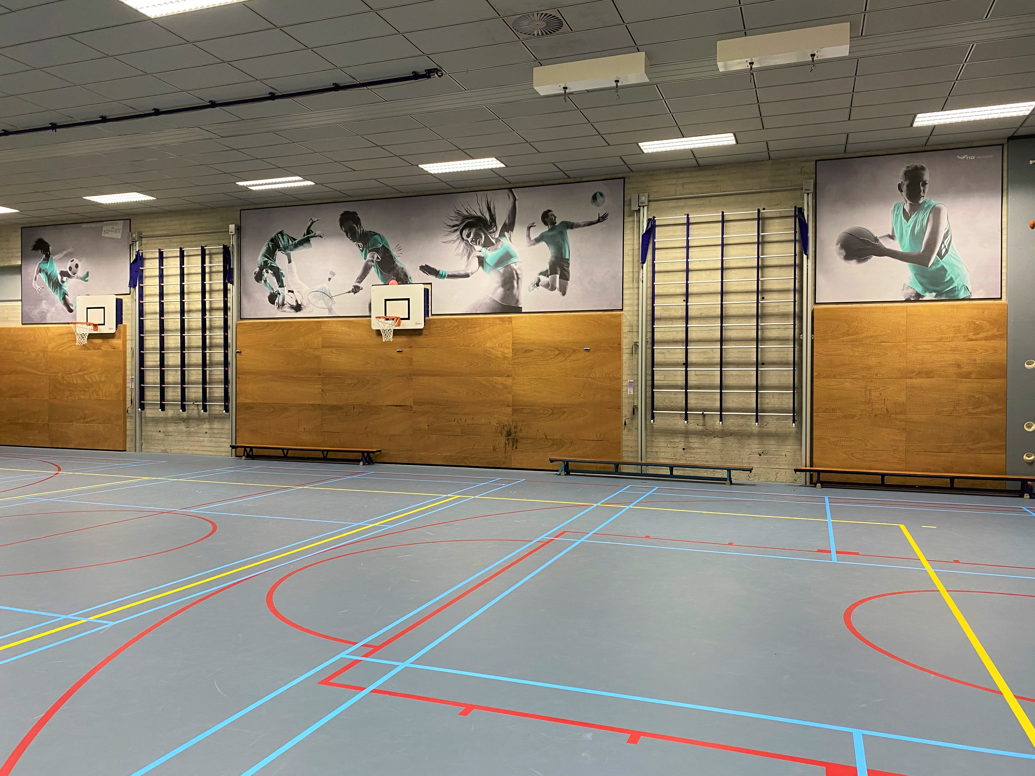 inrichting sporthal