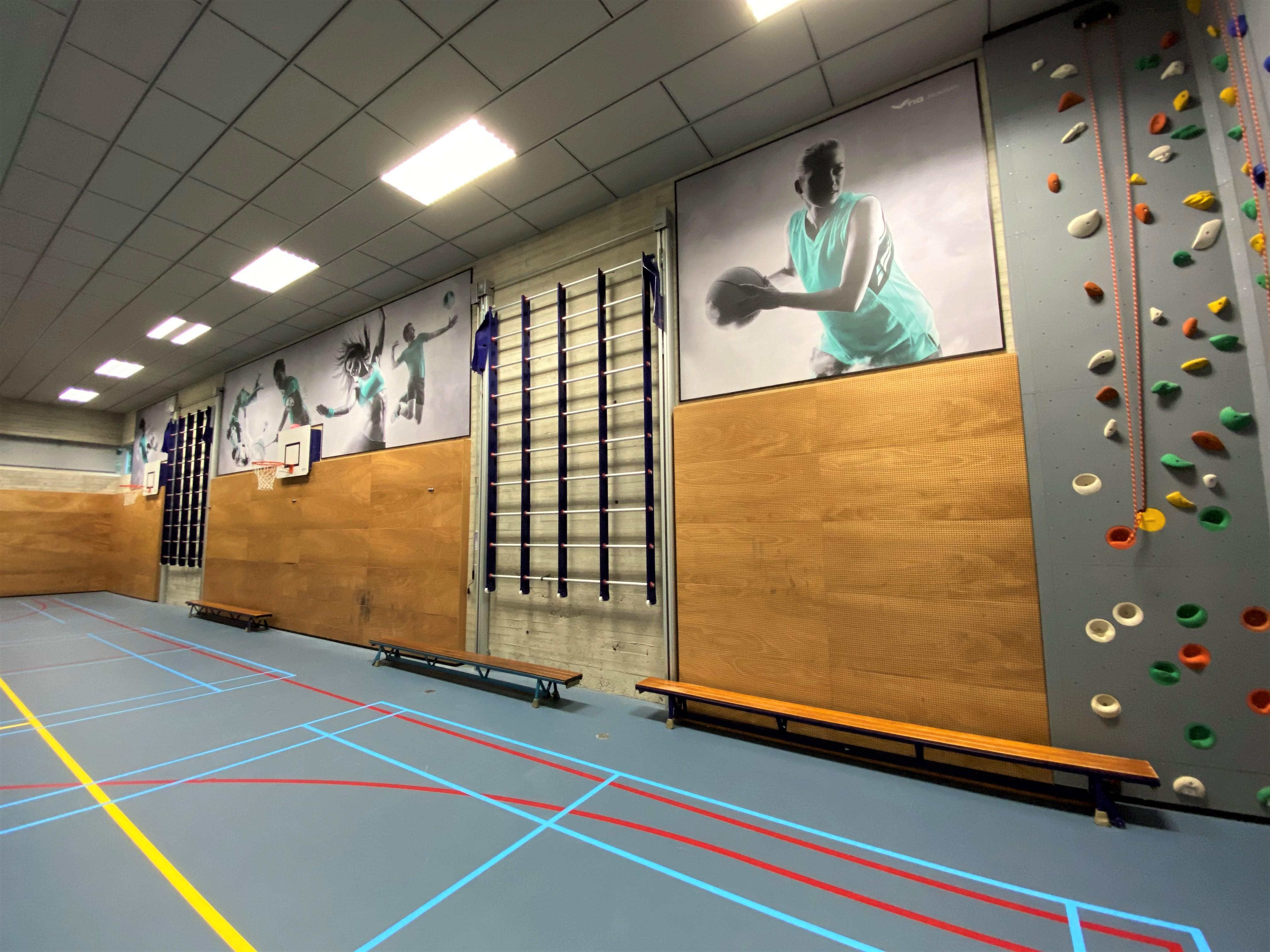 sporthal screens