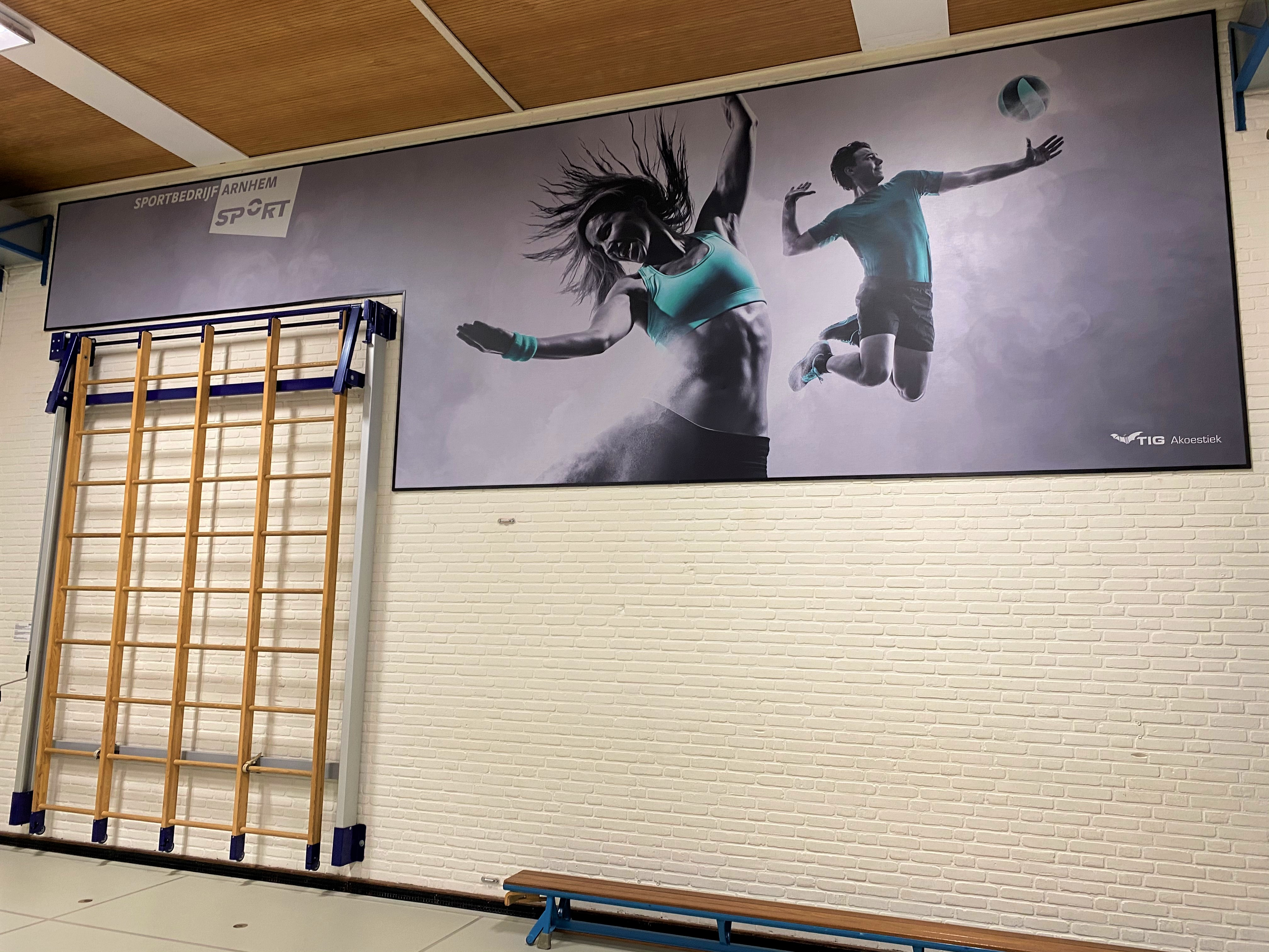 screen gymzaal