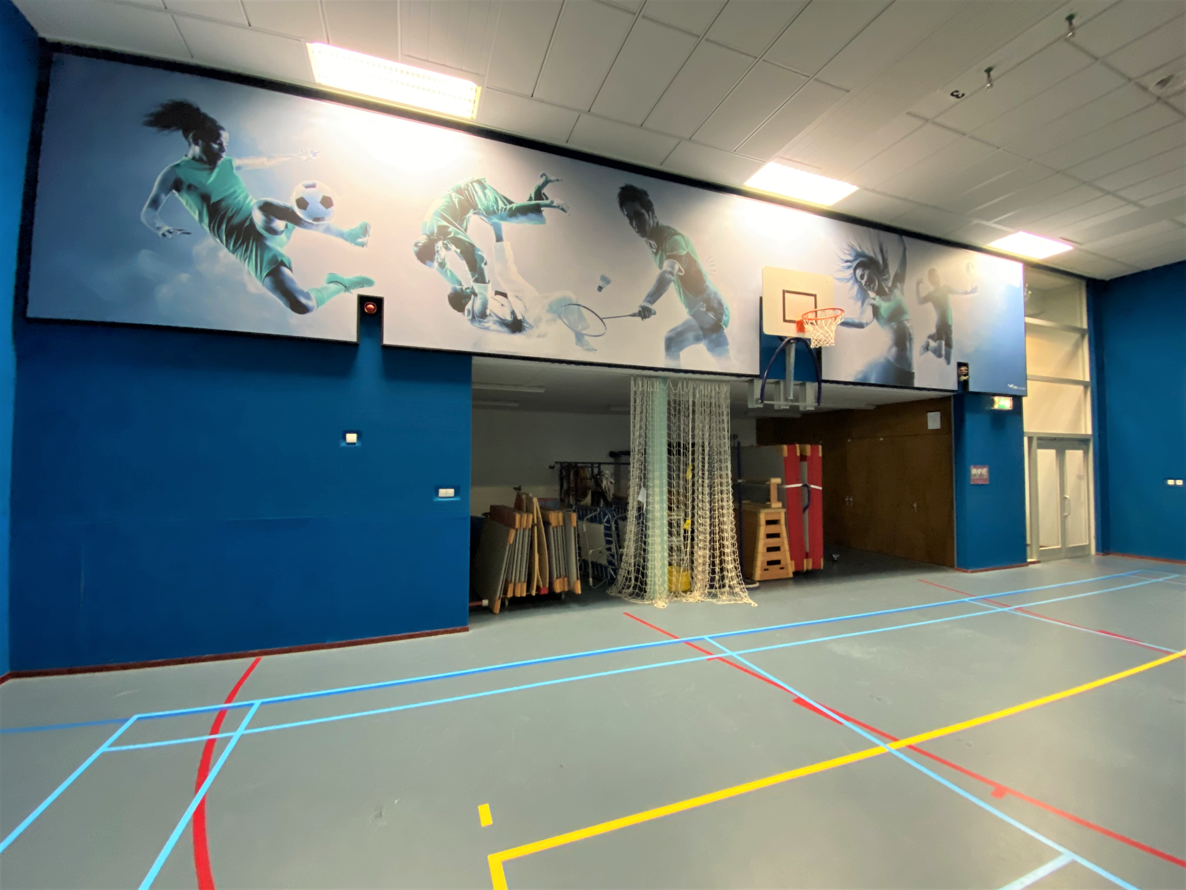 screens gymzaal